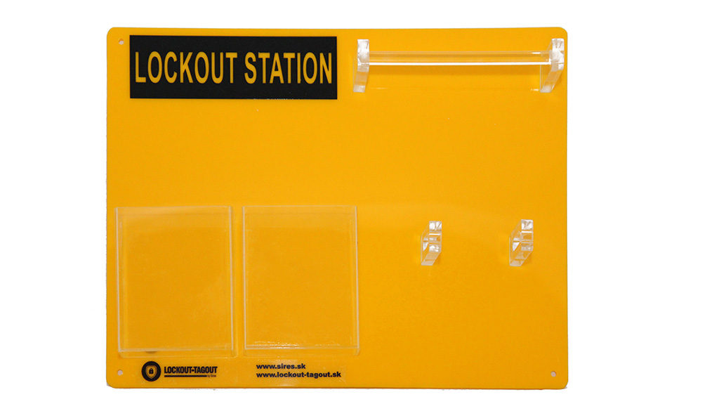 Lockout Tagout LOTO stanice